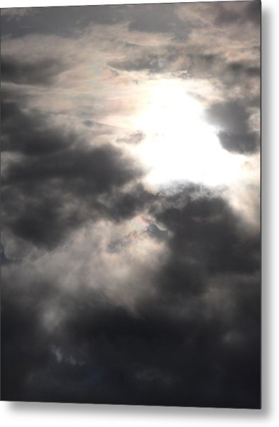 Beneath The Clouds Metal Print
