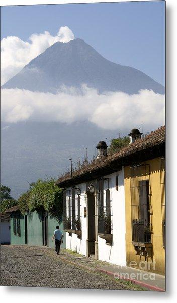 Beneath The Volcano Antigua Guatemala Metal Print