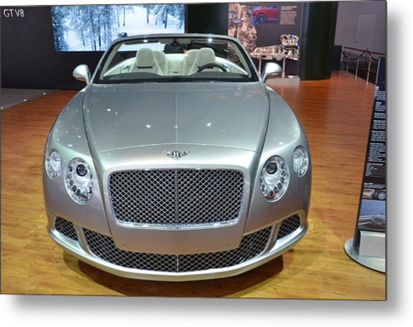 Bentley Starting Price Just Below 200 000 Metal Print