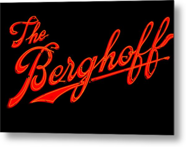 Berghoff Metal Print by Zannie B
