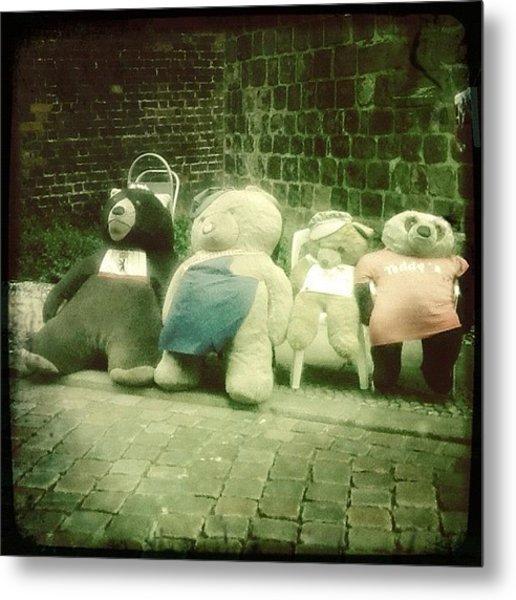#berlin #teddy #bear #bär #igersberlin Metal Print