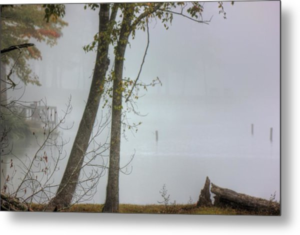 Beyond The Fog Metal Print by Barry Jones