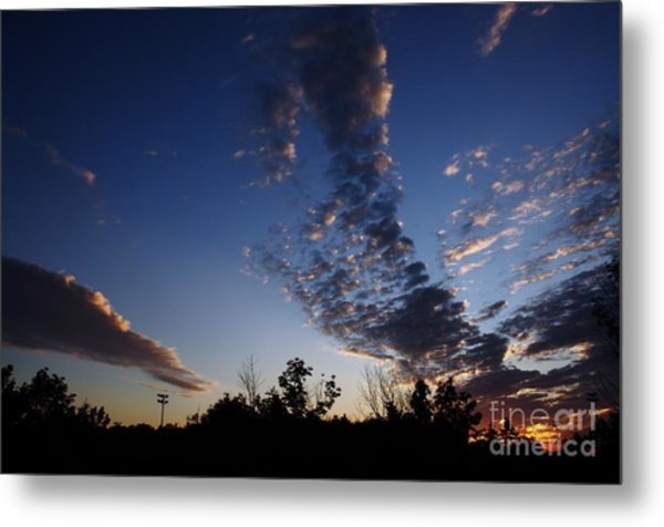 Beyond The Horizon Metal Print