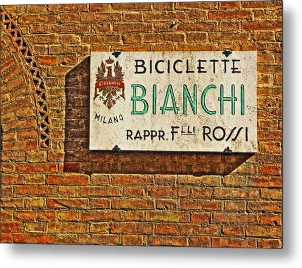 Biciclette Bianchi Metal Print