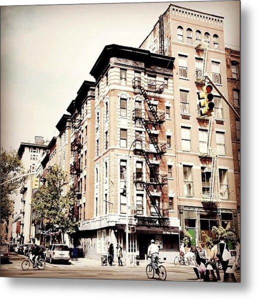 Bicycles - Greenwich Village - New York City Metal Print