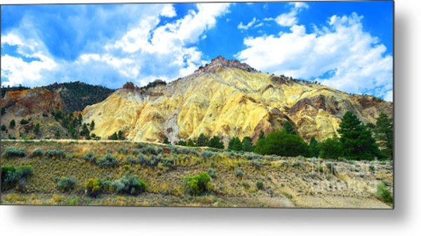 Big Rock Candy Mountain - Utah Metal Print