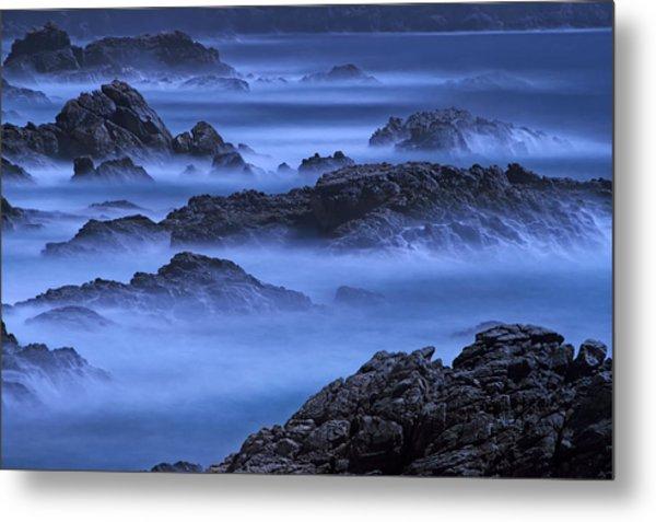 Big Sur Mist Metal Print