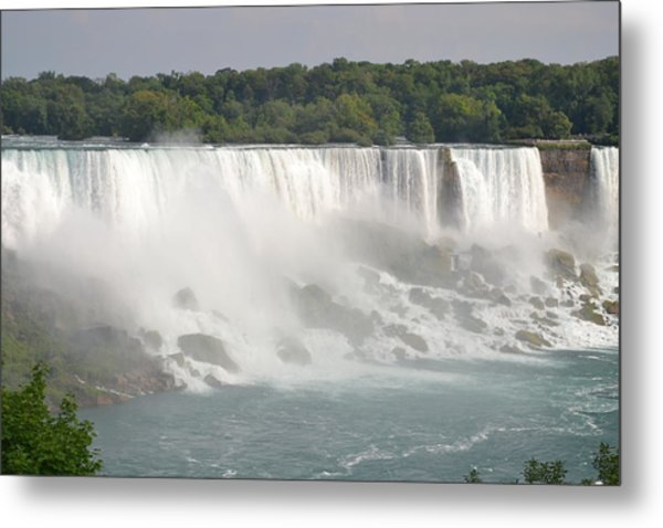Big Waterfall Metal Print by Naomi Berhane