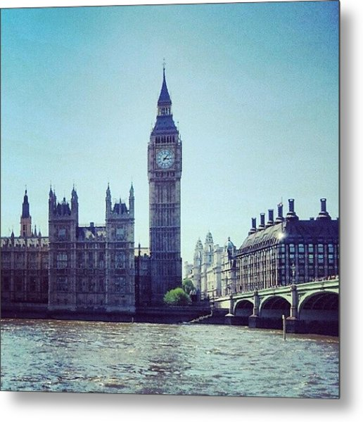 #bigben #buildings #westminster Metal Print