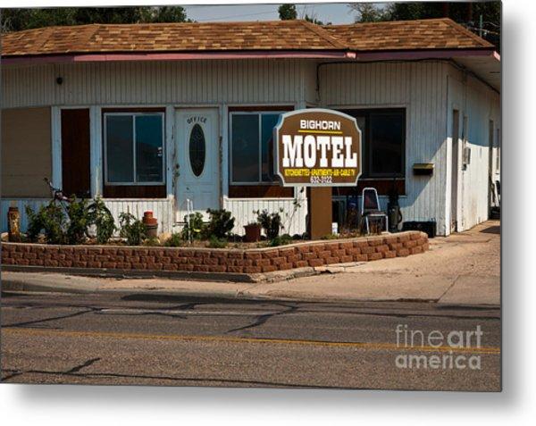 Bighorn Motel Metal Print