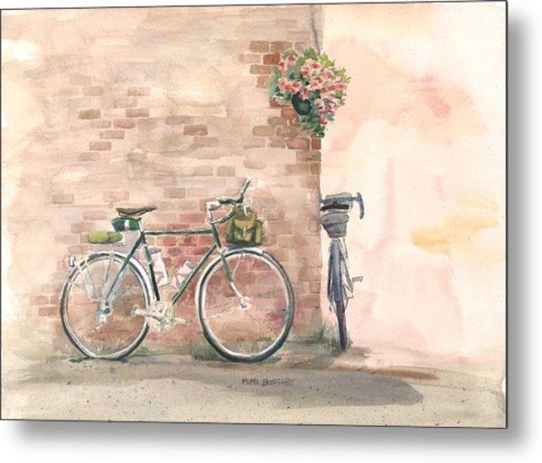 Bike Date Metal Print