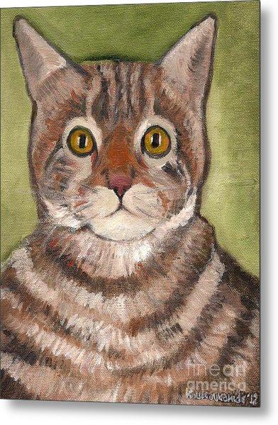 Bill The Cat  Metal Print by Kostas Koutsoukanidis