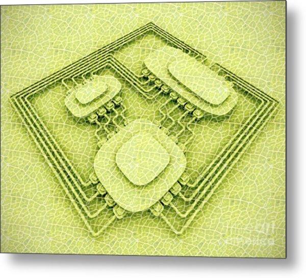 Biotech Metal Print