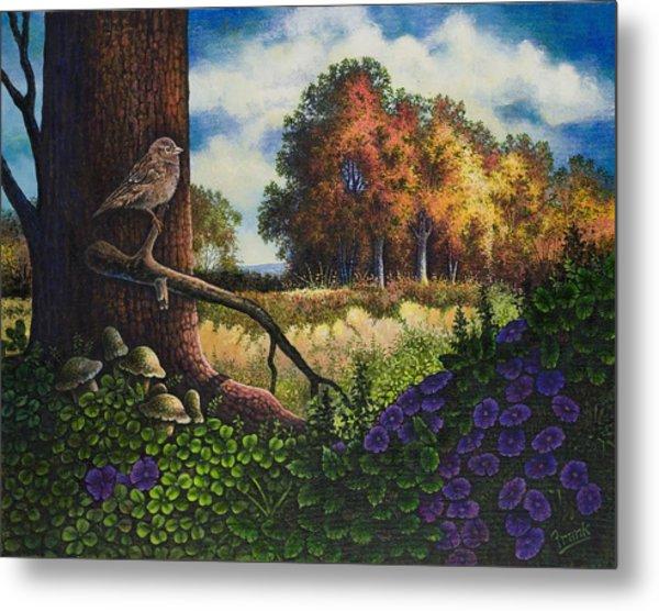 Bird In Paradise II Metal Print by Michael Frank
