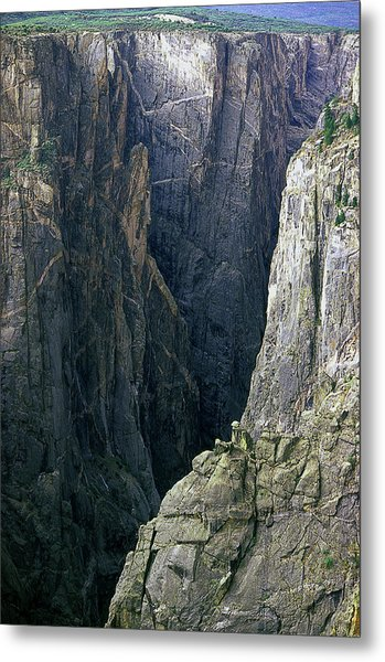 Black Canyon National Park Close View Metal Print