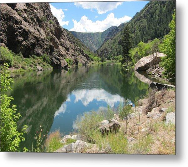 Black Canyon River Metal Print