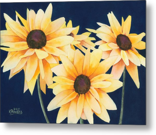 Black Eyed Susans 2 Metal Print