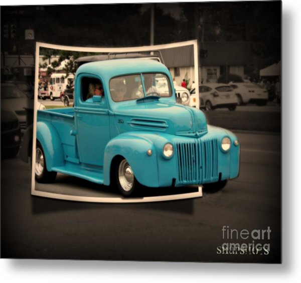 Blast From The Past Metal Print by Emily Kelley