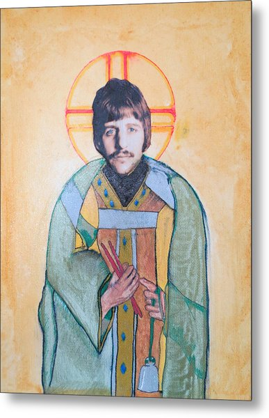 Blessed Ringo Metal Print by Philip Atkinson