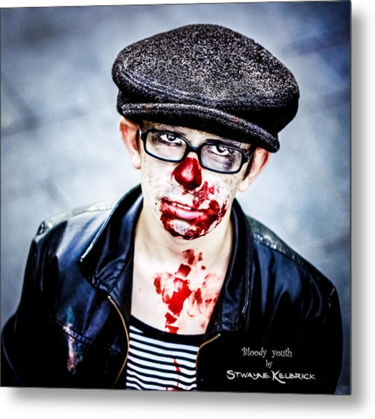 Bloody Youth Metal Print