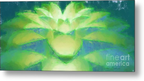 Bloom Luminata Metal Print