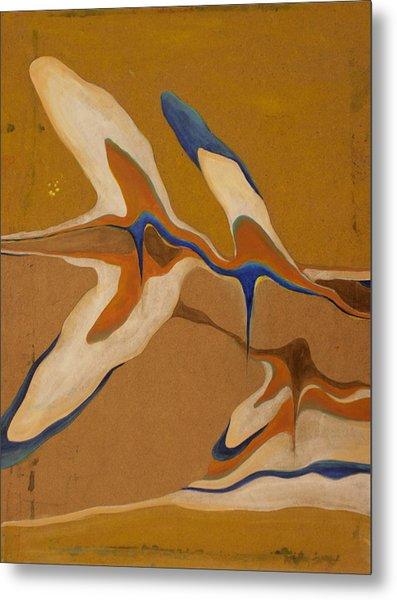 Blue Birds Metal Print by Devin Roberts