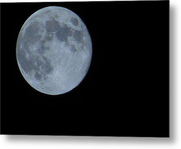 Blue Moon 8 31 12 Metal Print
