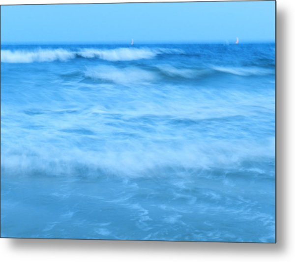 Blue Paradise Metal Print by Debra Webb