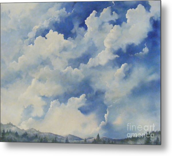 Blue Ridge Vista...sold  Metal Print