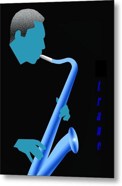 Blue Trane Metal Print by Victor Bailey