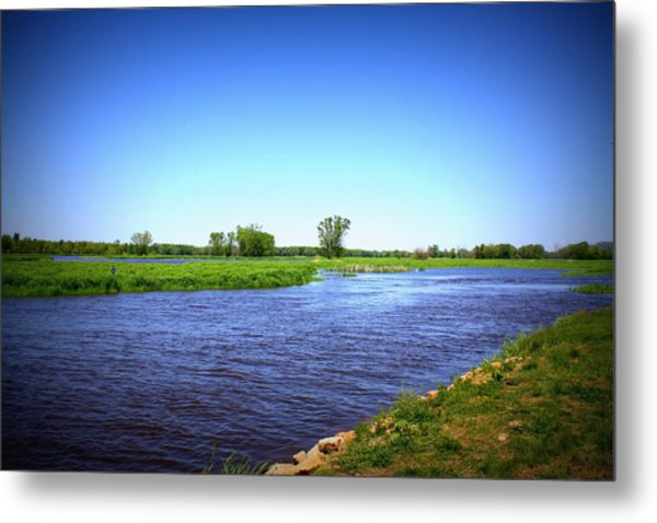 Blue Waters Metal Print