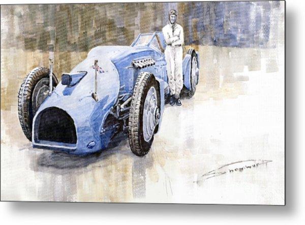 Bluebird 1933 Daytona Malkolm Campbell Metal Print