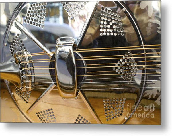 Blues Guitar Metal Print by Ed Rooney