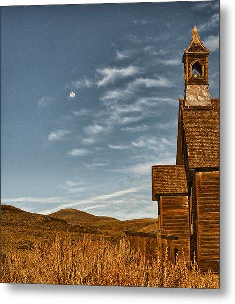 Bodie California Church Metal Print by Al Reiner