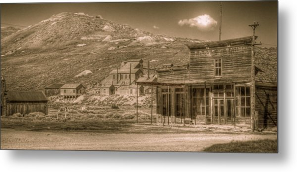 Bodie California Ghost Town Metal Print