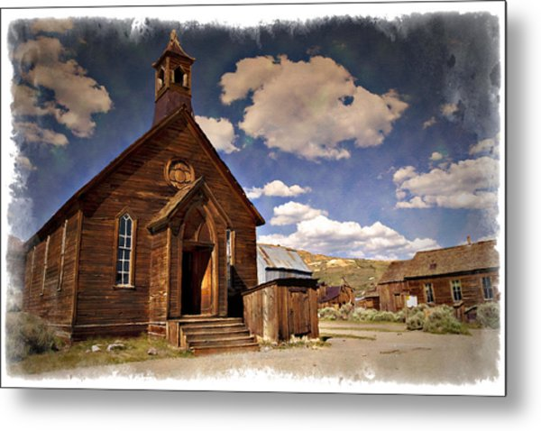 Bodie Church - Impressions Metal Print