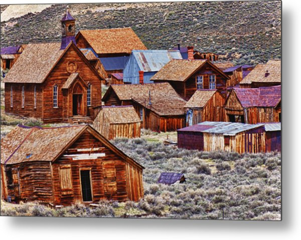 Bodie Ghost Town California Metal Print