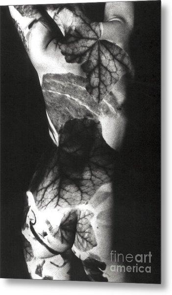 Body Projection Woman - Duplex Metal Print