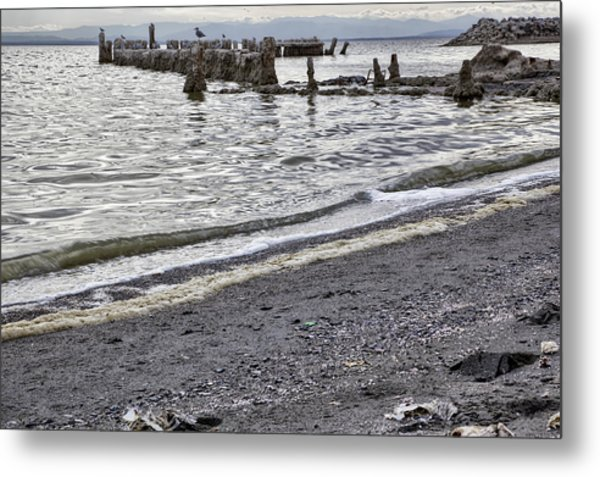 Bombay Beach Salton Sea Metal Print