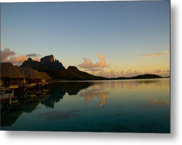 Bora Bora Dawn Metal Print by Benjamin Clark
