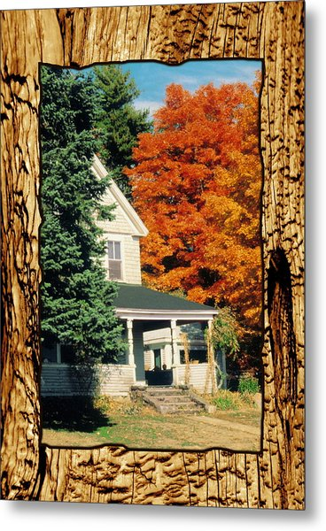 Boston Home Fall 1982 Metal Print by Noah Brooks