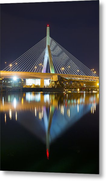 Boston Reflections Metal Print