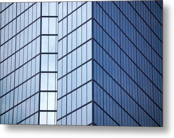 Boston Squares Metal Print