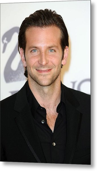 Bradley Cooper At Arrivals For The 2009 Metal Print