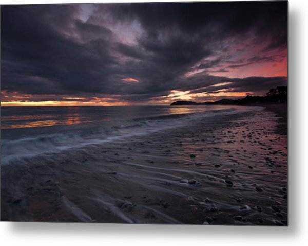 Bray Head From Killiney Beach Metal Print