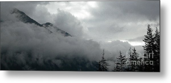 Breaking Sky Metal Print