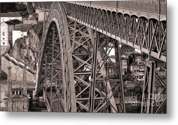 Bridge Construction Metal Print