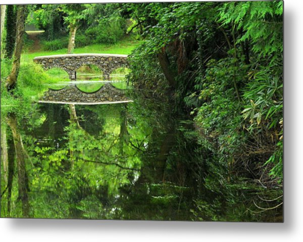 Bridge Of Tranquillity Metal Print