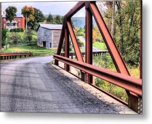 Bridge To A Simpler Time Metal Print by JC Findley