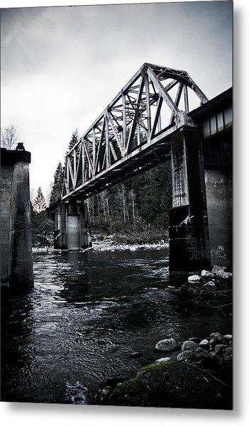Bridge To Nowhere Metal Print by Warren Marshall